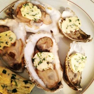 Char-grilled oysters, outsidethecerealbox.com