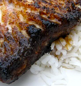 Blackened Shark Steaks