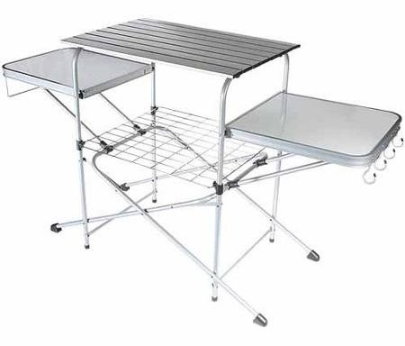 Deluxe Grilling Table