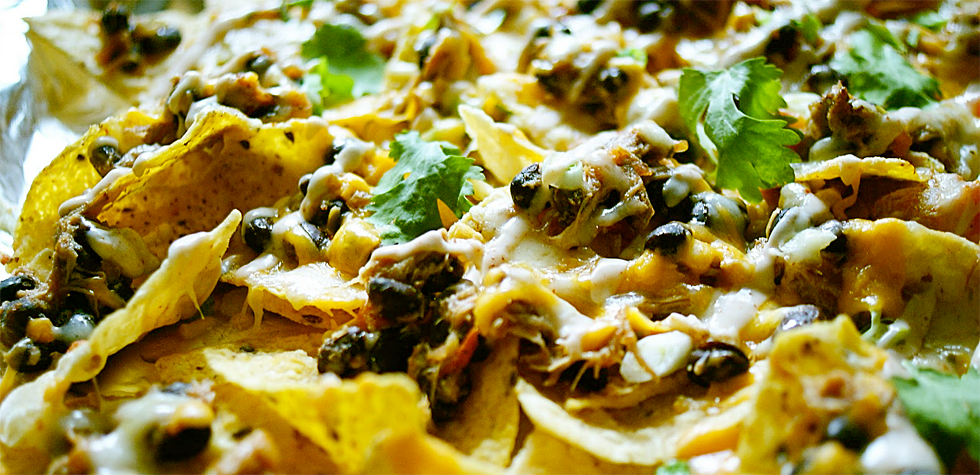 Boston Butt Nachos will be the go-to snack at your Super Bowl party.