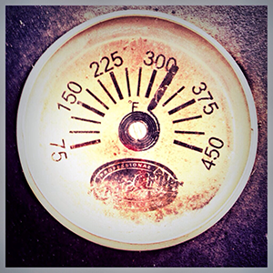 Maintain a temperature of 325 degrees for three hours.