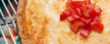 Grilled Tomato Pie