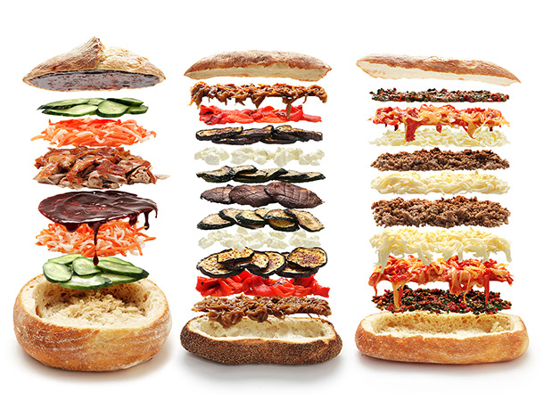 Shooter Sammich options, Grillax.com