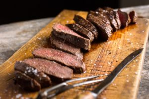 Sliced Venison roast, NYT Cooking