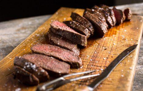 Sliced Venison, NYT Cooking