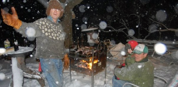 Cold-Weather Grilling