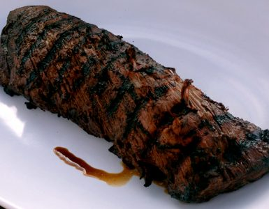 Grilled Whole Beef Tenderloin