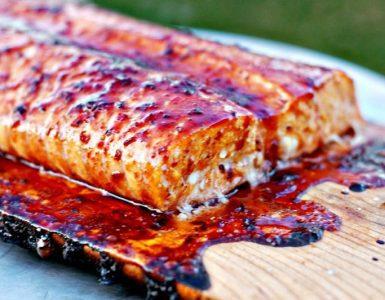 Cedar-plank Grilled Salmon