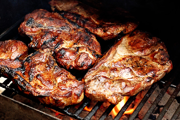 Smoked Pork Steaks, patiodaddy.com