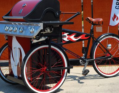 Sears' grilling bike