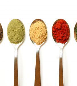 Spices, via Zeffert and Gold