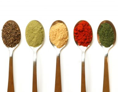 Spices, via Zeffert and Gold