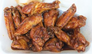 Traditional restaurant wings
