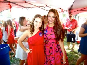 The Grove at Ole Miss in Oxford, Miss. has become a popular destination for Gameday fans of football. As Ole Miss states, we may lose the game, but we never lose a party.