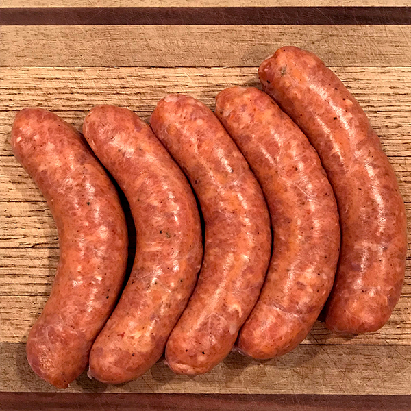 Hot Italian turkey sausage can be found in most markets worldwide.