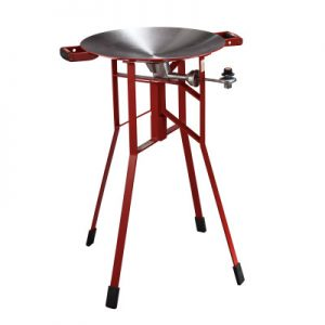 FireDisc® Shallow™ 24-inch Tall Portable Cooker Image