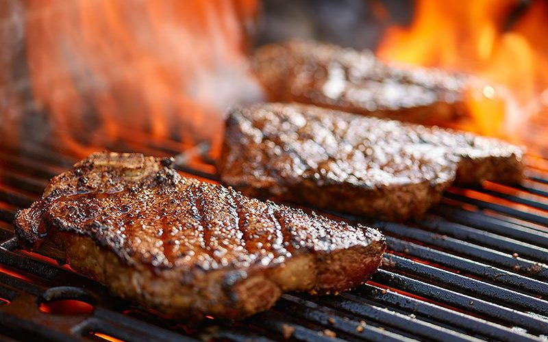 Searing Steaks