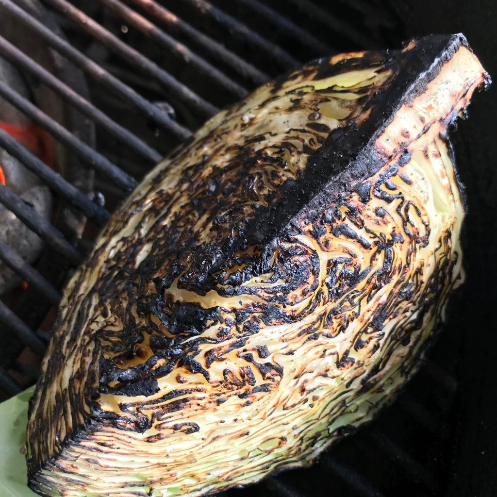 Grilled cabbage is a perfect clean-food addition to your healthy daily intake. Add olive oil and salt-free seasonings while on the heat for a tender, flavorful main or side off the grill.