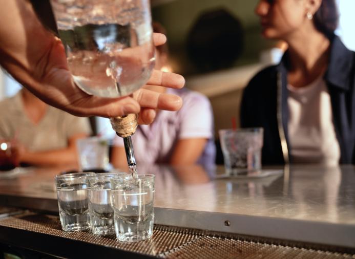 Gameday Cocktails Shot! Pour