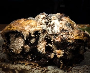 Intense Dark Chocolate Babka via Grillax