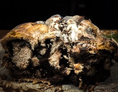 Intense Dark Chocolate Babka via Grillax