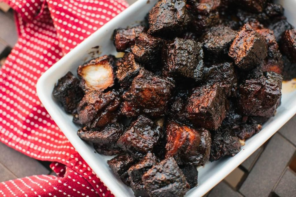 Pork Belly Burnt Ends, via kmuw.org