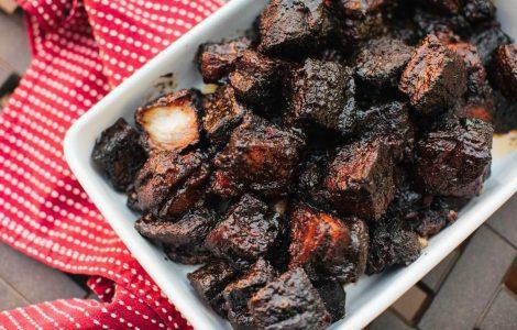 Pork Belly Burnt Ends, via kmuw.org