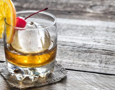 Bourbon Old Fashioned Cocktails