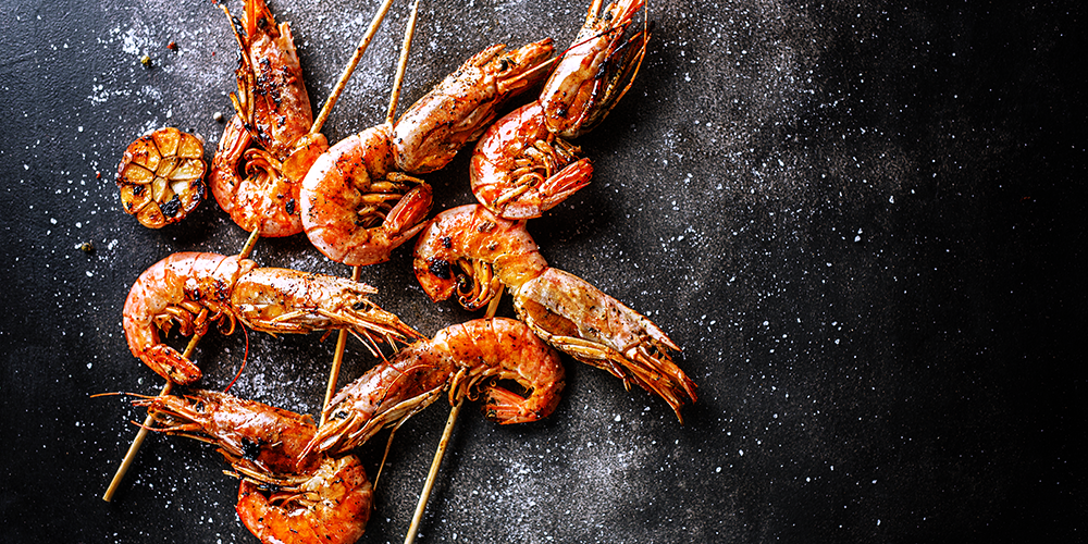 Grilled Shrimp with Cray Bay Seasoning