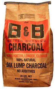B&B Charcoal Oak Lump Charcoal, Flavor Oak, 20 lbs. Image