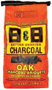 B&B OAK CHARCOAL, 17.6 lbs. Image