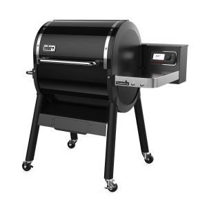 Weber SmokeFire EX4 Wood Fired Pellet Grill, Black Image