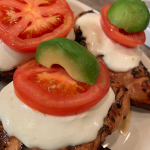 Caprese Chicken via Grillax