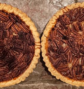 Ultimate Chocolate Bourbon Pecan Pie