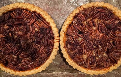 Ultimate Chocolate Bourbon Pecan Pie
